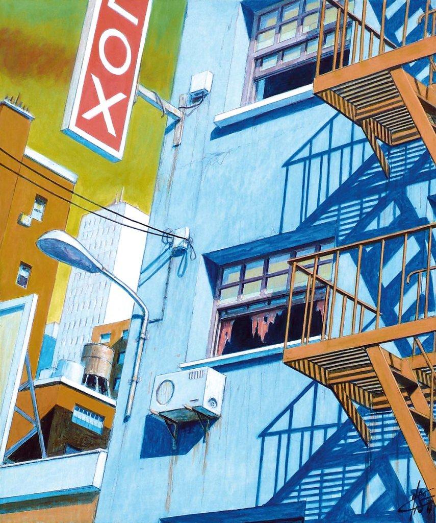 Escalier 55X46 2012.