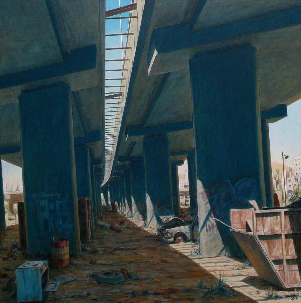 Le pont 120X120 2010