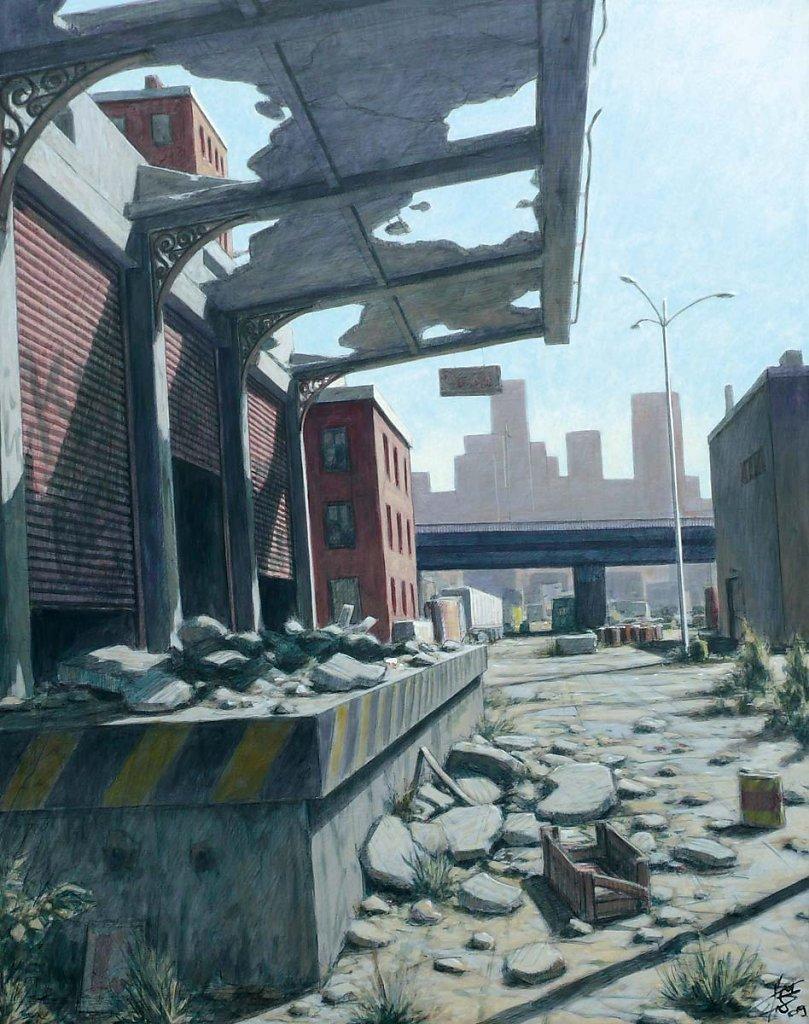 Friche 92X73 2009