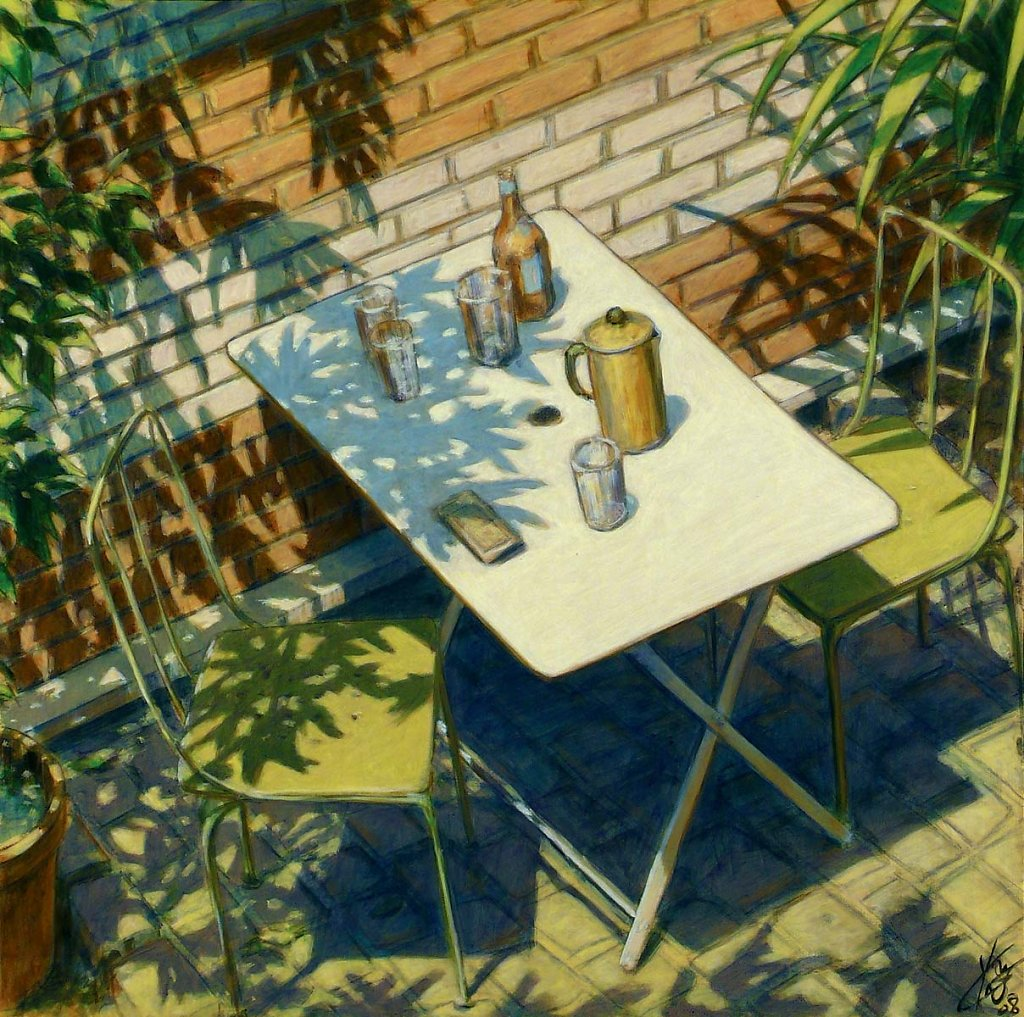 Table atelier 35X27 2008