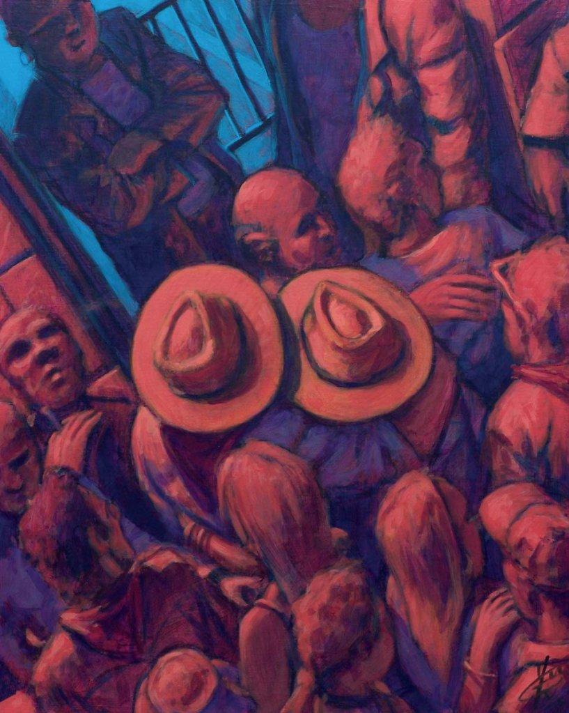 Les chapeaux 81X65 2005