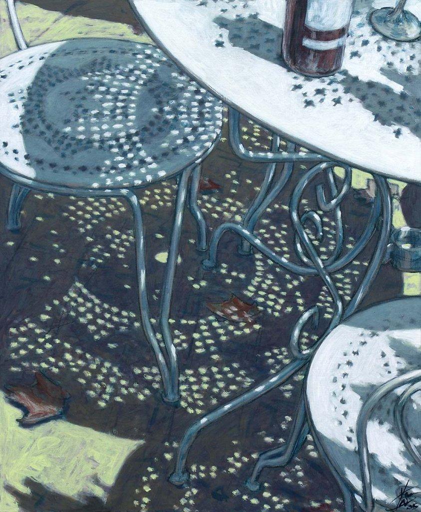 Table de jardin 73X60 2005 - Yash Godebski