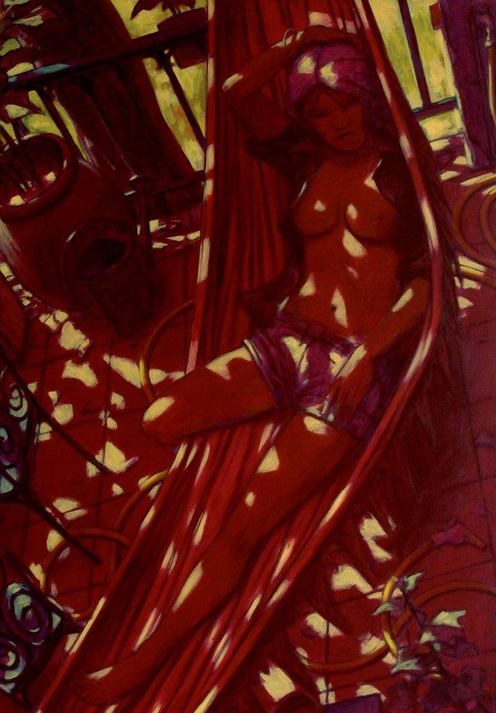 hamac rouge 130X195 2004