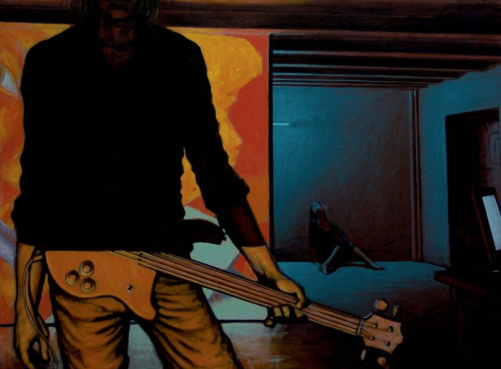 Le bassiste 97X130 2004