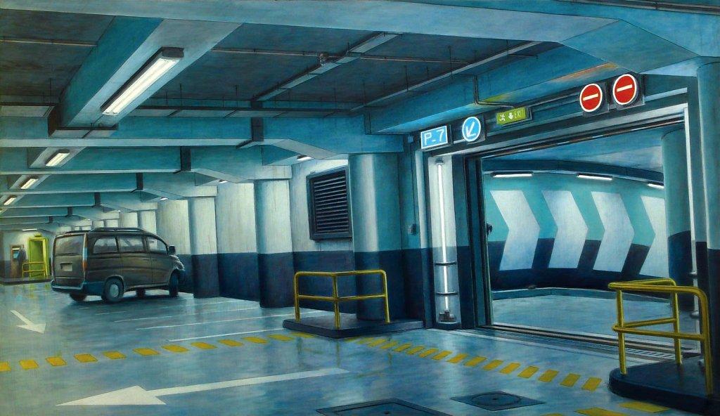 """Parking 2"" 114X195 2010"