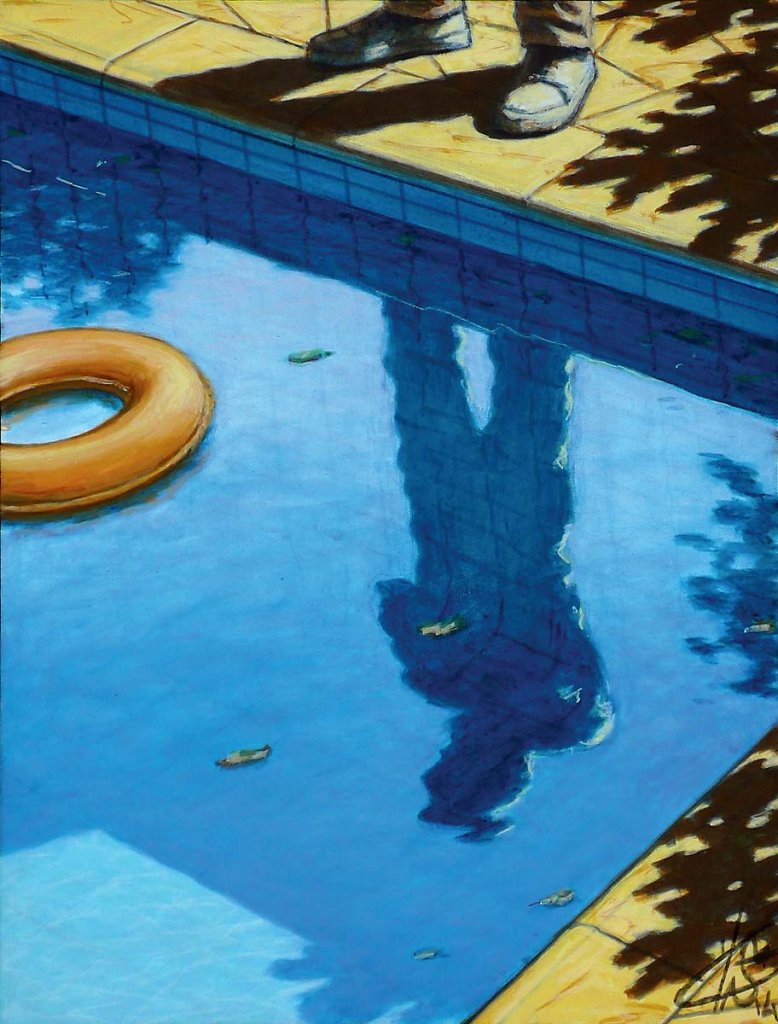 Reflet piscine 35X27 2014
