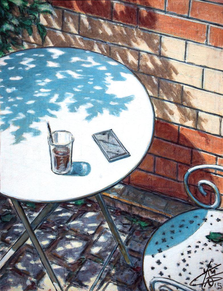 """""""Café"""" 35X27 2015"""