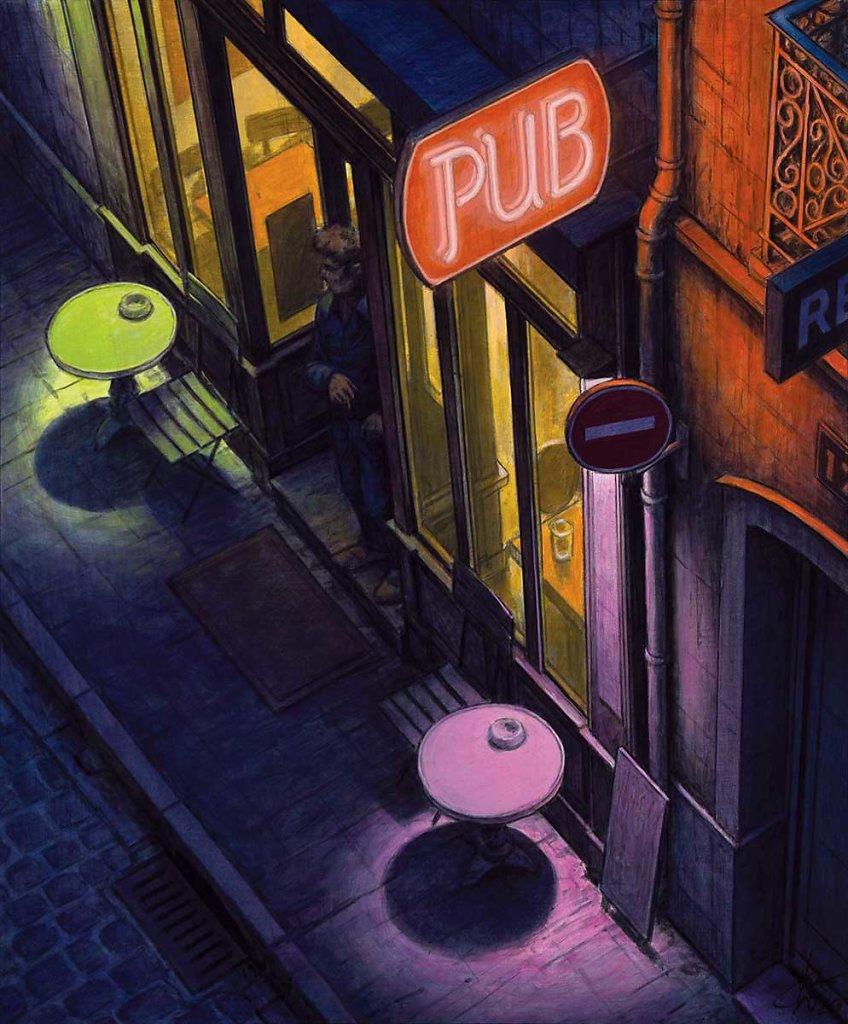 """""""Pub"""" 55X46 - 2020"""
